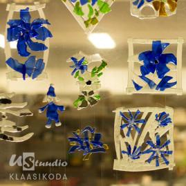 Dekoratsioonide töötuba klaasisulatustehnikas