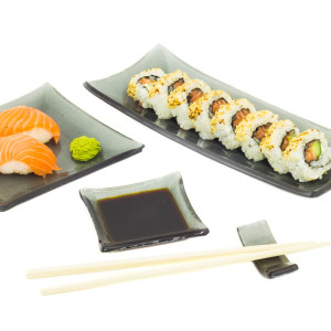 "Sushi toidunõude komplekt ""Tume"""