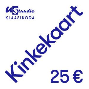 Kinkekaart 25