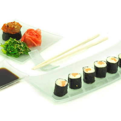"Sushi toidunõude komplekt ""Hele"""