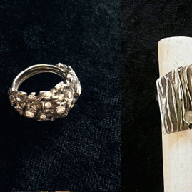 Hõbesavist sõrmuse valmistamise kursus algajatele